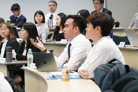 Hitotsubashi ICS Al classroom