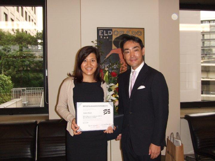 Asuka ICS MBA commencement