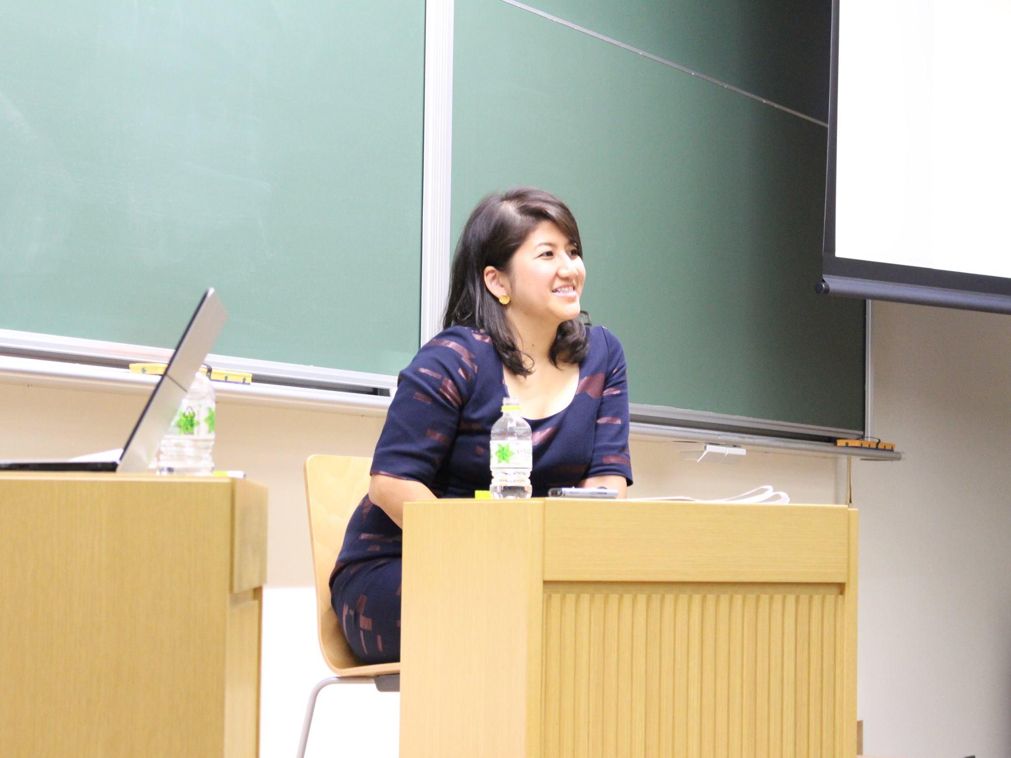 Asuka at Hitotsubashi ICS DBA