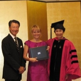 HitotsubashiICS MBA Alumni AnnaLemeshkina Takeuchi