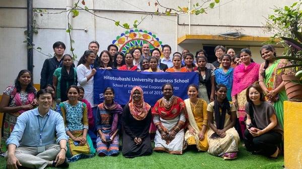 Hitotsubashi ICS EMBA Alumna Hiromi Nishida Immersion trip to India
