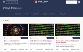 Harvard Online R Courses