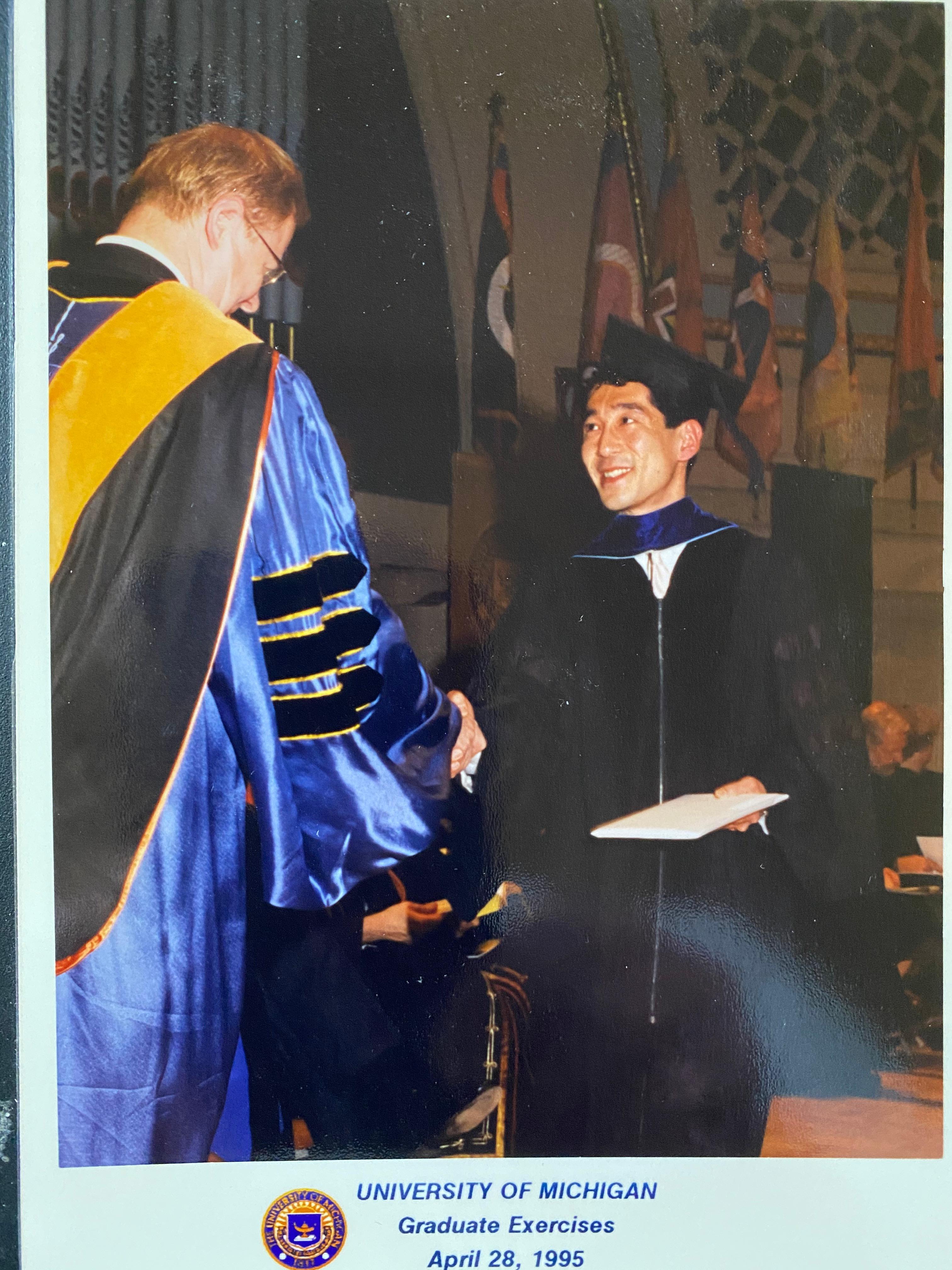 Kaz Michigan Graduation