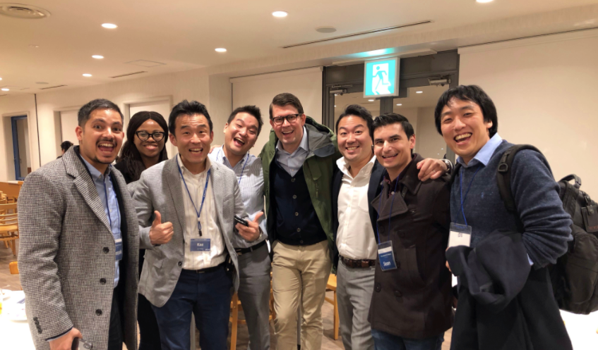 Students pursuing an MBA program in Tokyo