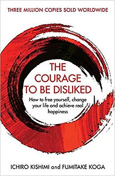 The courage to be disliked book cover