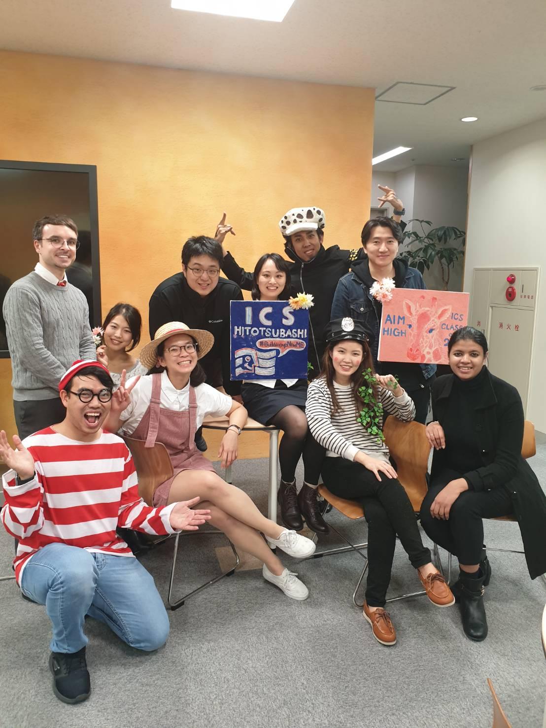 Hitotsubashi ICS student voice Haruna