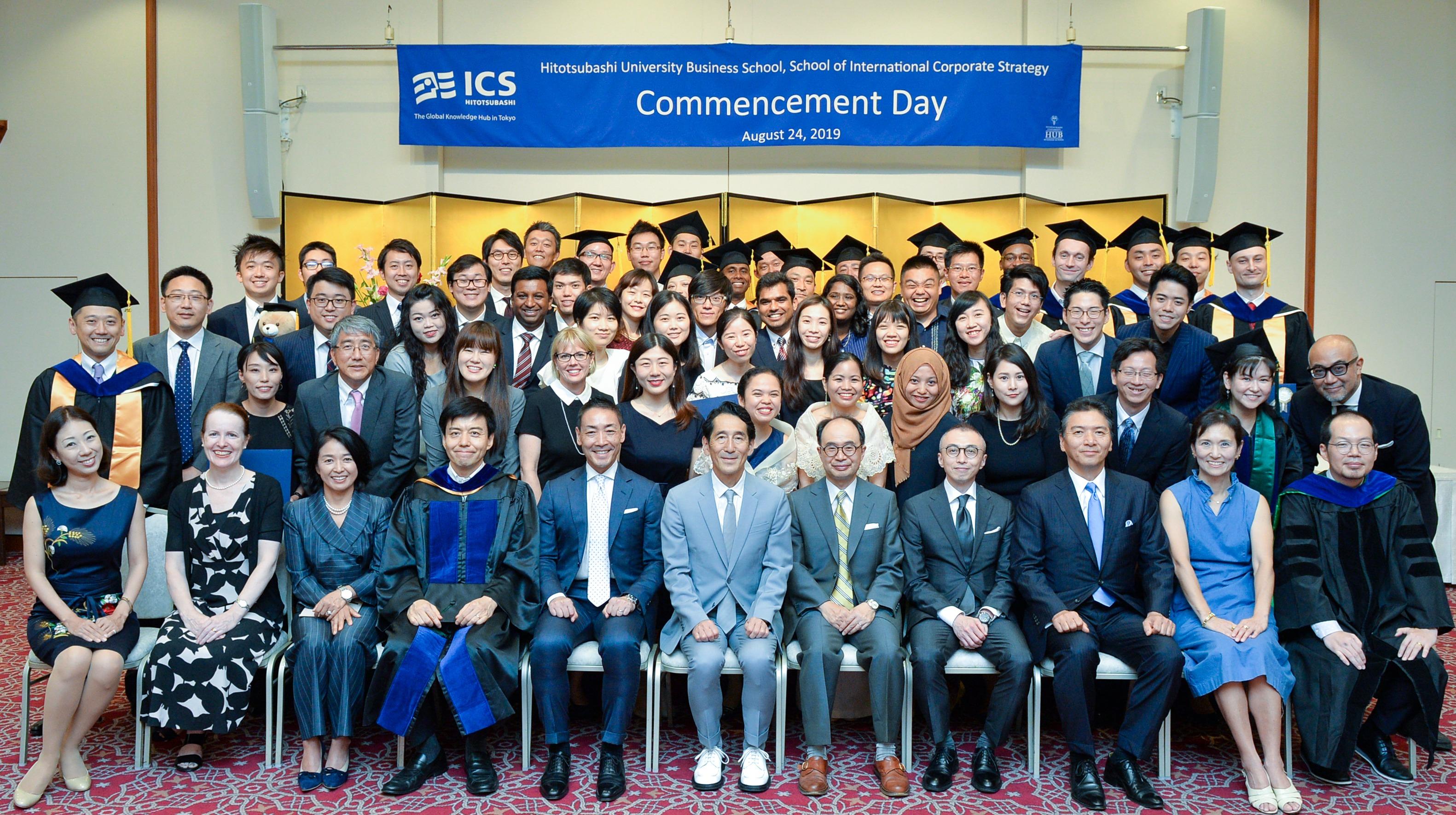 HitotsubashiICS_Commencement_MBA_EMBA_2019